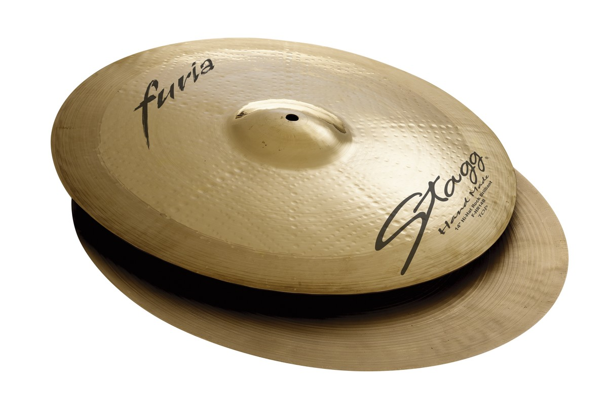 "Činel 13"" FURIA BRILLIANT HI-HAT ROCK"