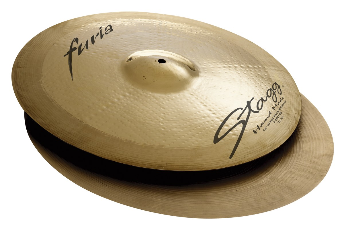 "Činel 14"" FURIA BRILLIANT HI-HAT ROCK"