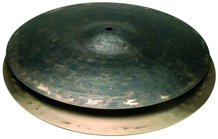 "Činel 10"" BLACK METAL HI-HAT ROCK"