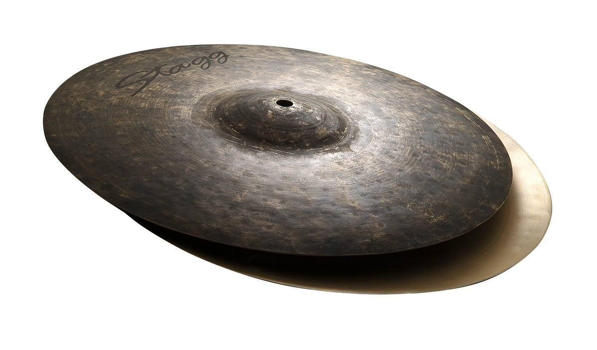 "Činel 12"" BLACK METAL HI-HAT ROCK"